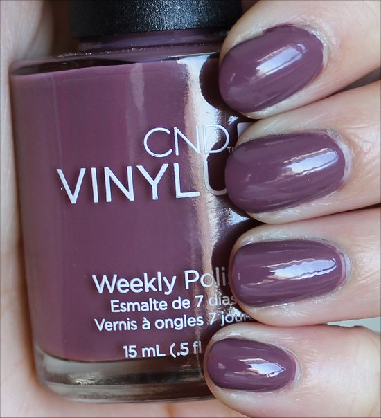 CND Vinylux Married to the Mauve Swatches & Review