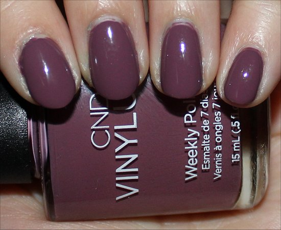 CND Vinylux Nail Polish Married to the Mauve Swatches