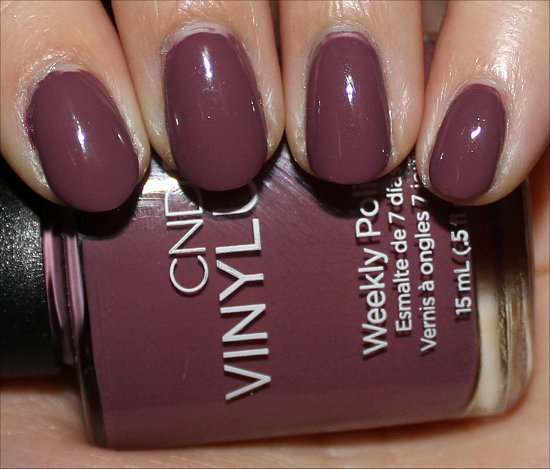 CND Vinylux Polish Married to the Mauve Swatches