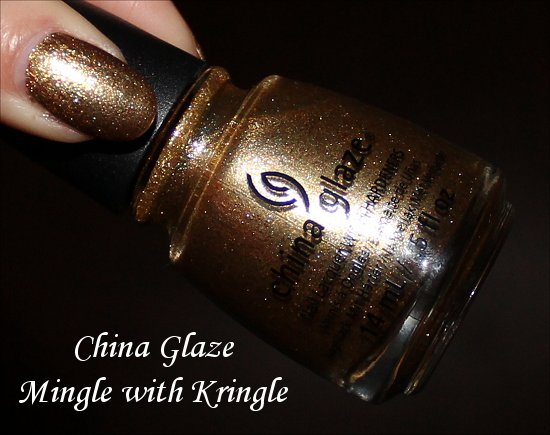 China Glaze Mingle with Kringle Pictures & Swatch