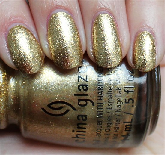 China Glaze Mingle with Kringle Review & Swatch