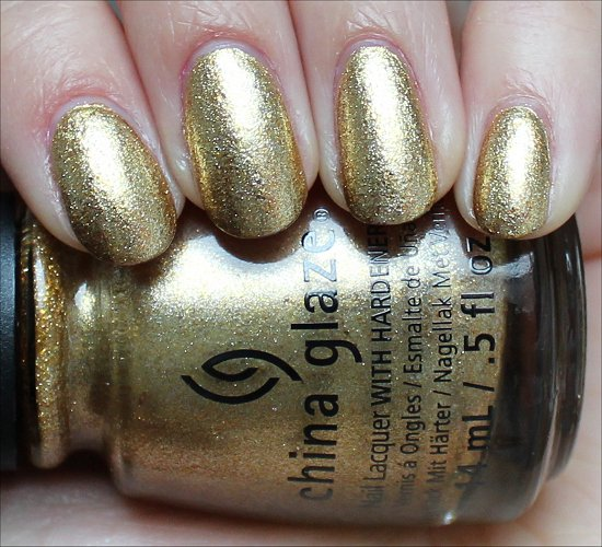 China Glaze Mingle with Kringle Review & Swatches