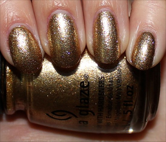 China Glaze Mingle with Kringle Swatch & Photos