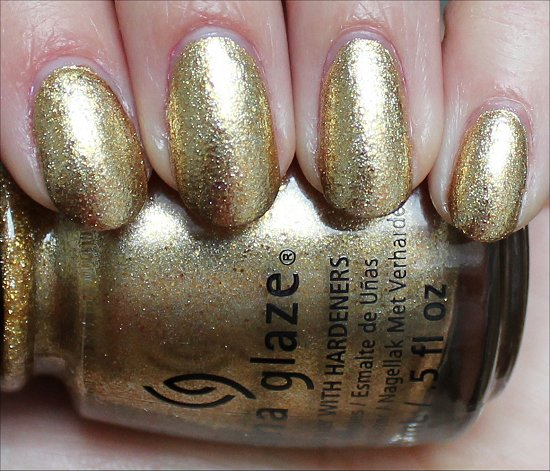 China Glaze Mingle with Kringle Swatch & Review