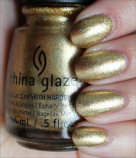 China Glaze Mingle with Kringle Swatches & Review