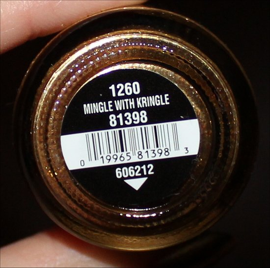 China Glaze Mingle with Kringle