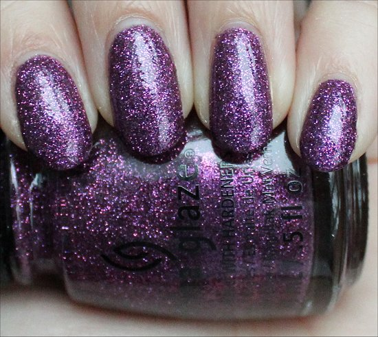 China Glaze Put a Bow on It Swatch & Review