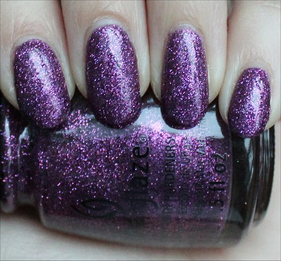China Glaze Put a Bow on It Swatches