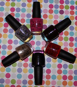 Gwen Stefani by OPI Collection Swatches & Pictures