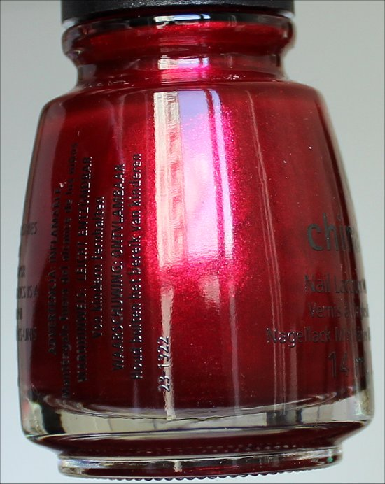 Just Be-Claws China Glaze Happy HoliGlaze Collection