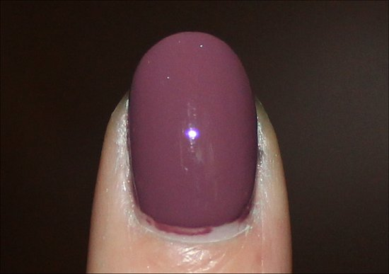 Marired to the Mauve CND Vinylux Swatch