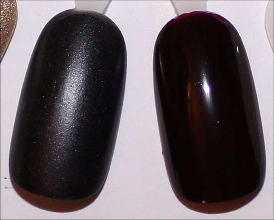 OPI 4 in the Morning Swatch & OPI I Sing in Color Swatch