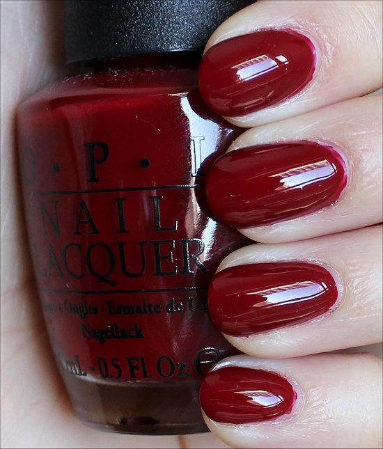 OPI All I Want for Christmas (Is OPI) Swatches & Review