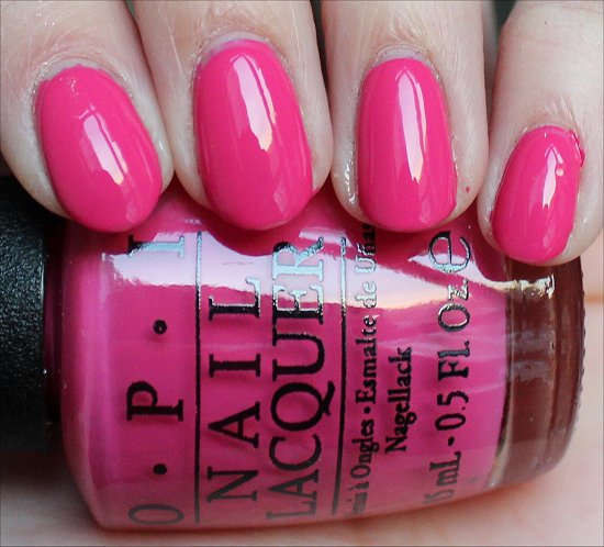 OPI Hey Baby Swatch OPI Gwen Stefani Collection Swatches