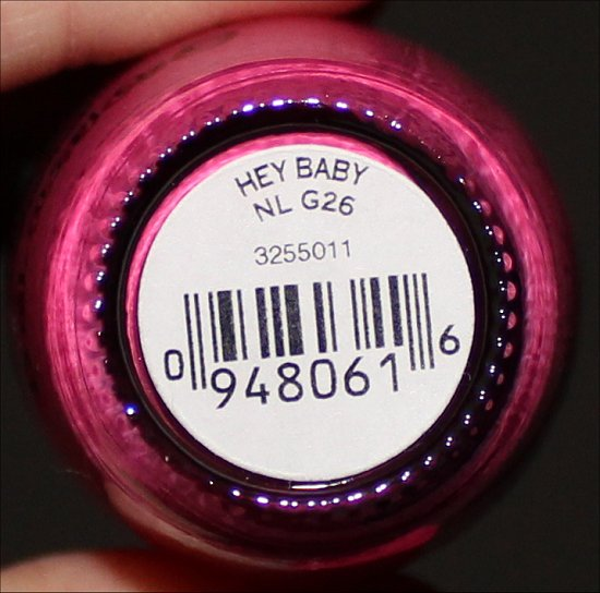 OPI Hey Baby Swatch & Review