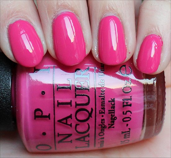 OPI Hey Baby Swatches OPI Gwen Stefani Swatch