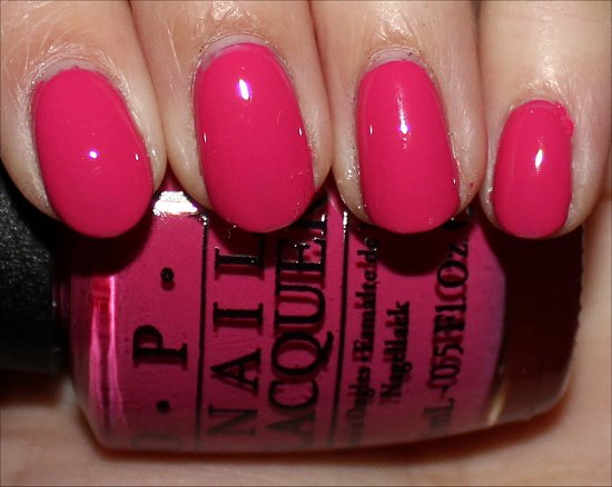OPI Hey Baby Swatches, Review & Pictures
