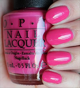 OPI Hey Baby Swatches & Review