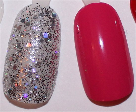 OPI In True Stefani Fashion Swatch & OPI Hey Baby Swatch
