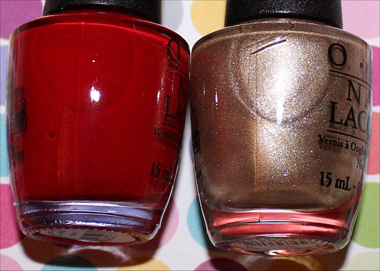 OPI Over & Over A-Gwen & OPI Love. Angel. Music. Baby.
