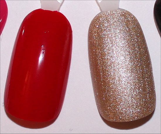 OPI Over & Over A-Gwen Swatch & OPI Love. Angel. Music. Baby. Swatch