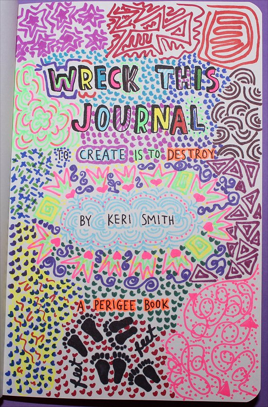 Smorgasbord Sundays Wreck This Journal amp Quick Update