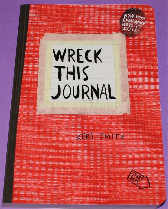 Wreck This Journal Swatch And Learn