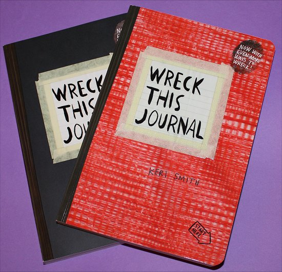 Wreck This Journal SwatchAndLearn