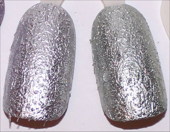 China Glaze Aluminate Wrinkling the Sheets Swatches
