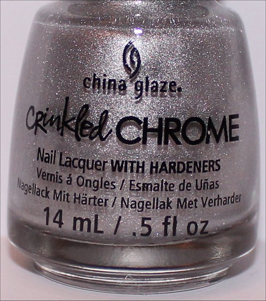 China Glaze Crinkled Chrome Collection Aluminate