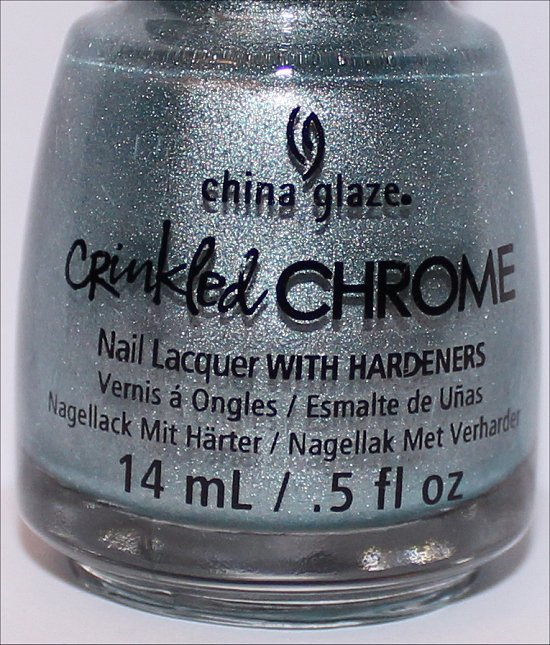China Glaze Crinkled Chrome Collection Don't Be Foiled