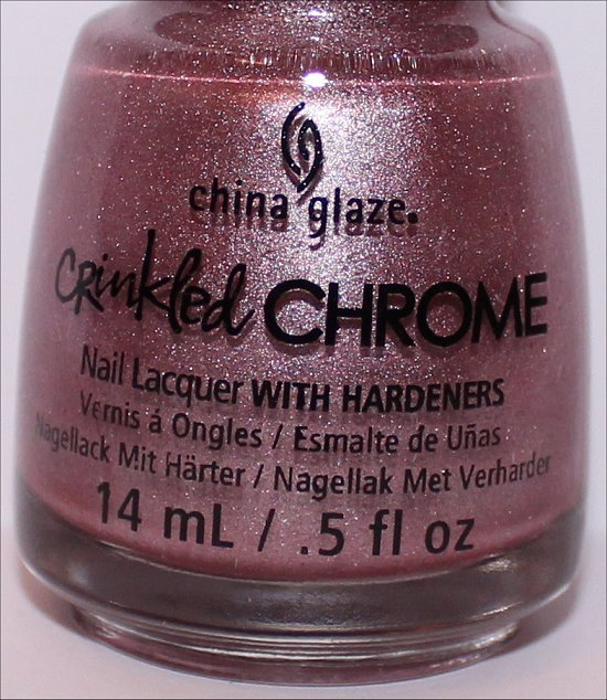 China Glaze Crinkled Chrome Collection I'm a Chromantic