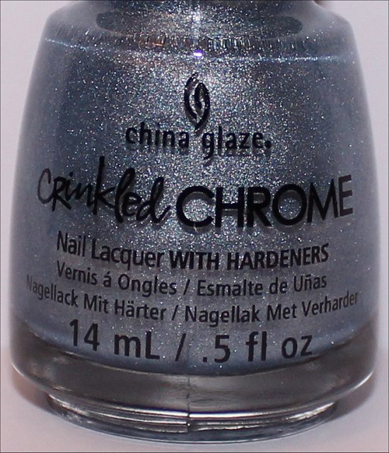 China Glaze Crinkled Chrome Collection Iron Out the Details