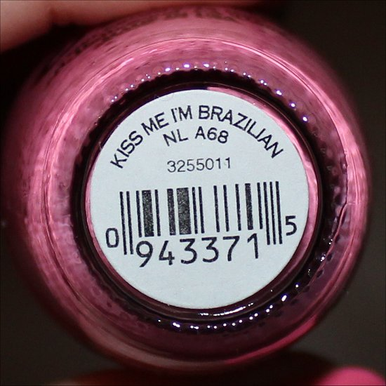 Kiss Me I'm Brazilian OPI Brazil Collection