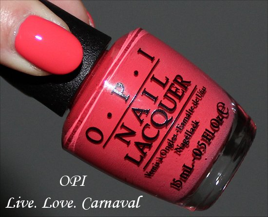 Live. Love. Carnaval OPI Brazil Collection