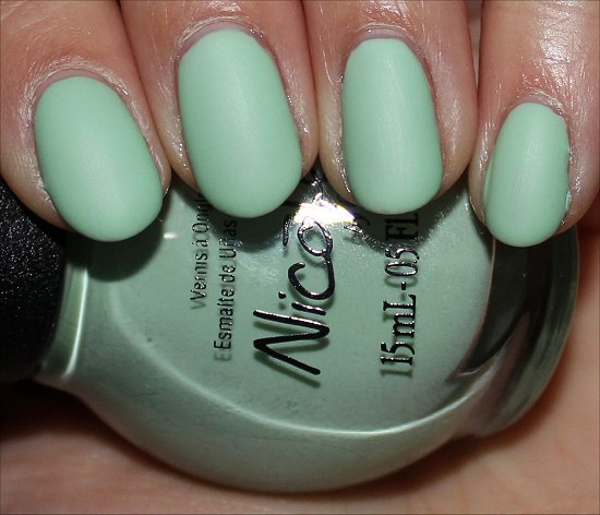 Nicole by OPI 2014 I Shop Mintage Swatch
