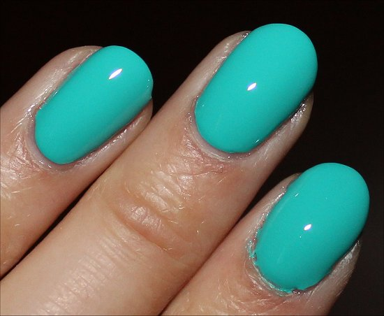 Nicole by OPI 2014 Teal Me Something New Swatch