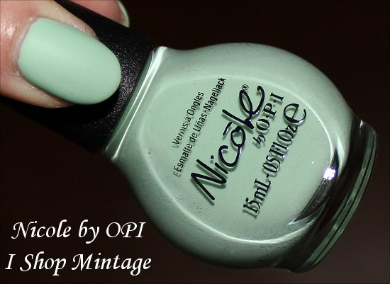 Nicole by OPI I Shop Mintage Pictures