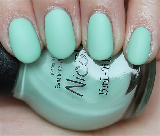 Nicole by OPI I Shop Mintage Swatch, Review & Pictures