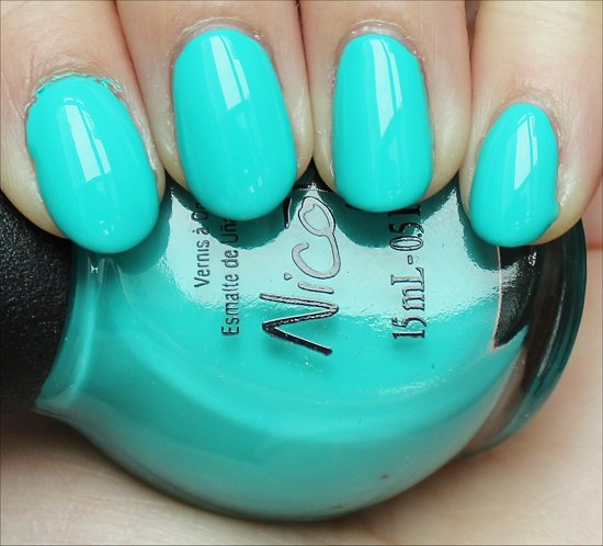 Nicole by OPI Teal Me Something New Review & Swatch