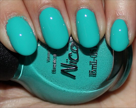 Nicole by OPI Teal Me Something New Swatch & Photos