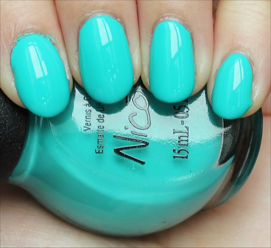 Nicole by OPI Teal Me Something New Swatch & Review