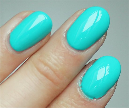 Nicole by OPI Teal Me Something New Swatch