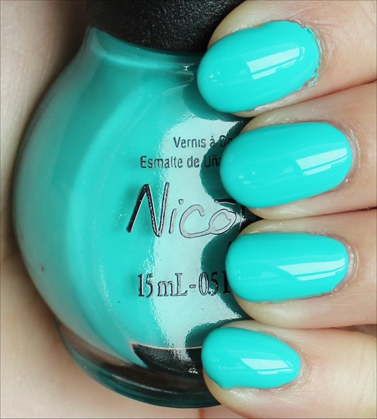 Nicole by OPI Teal Me Something New Swatches & Review