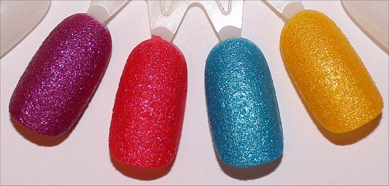 OPI Beach Sandies Liquid Sands Swatches