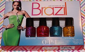 OPI Beach Sandies Mini Nail Lacquer Set