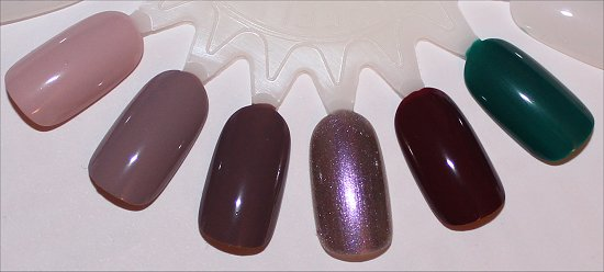 OPI Brazil Collection Swatches 2