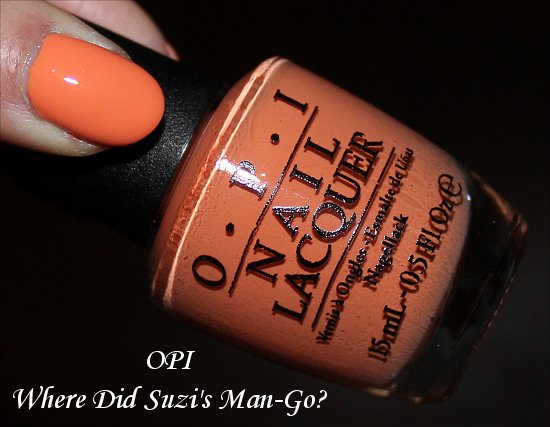 OPI Brazil Collection Where Did Suzi's Man-Go