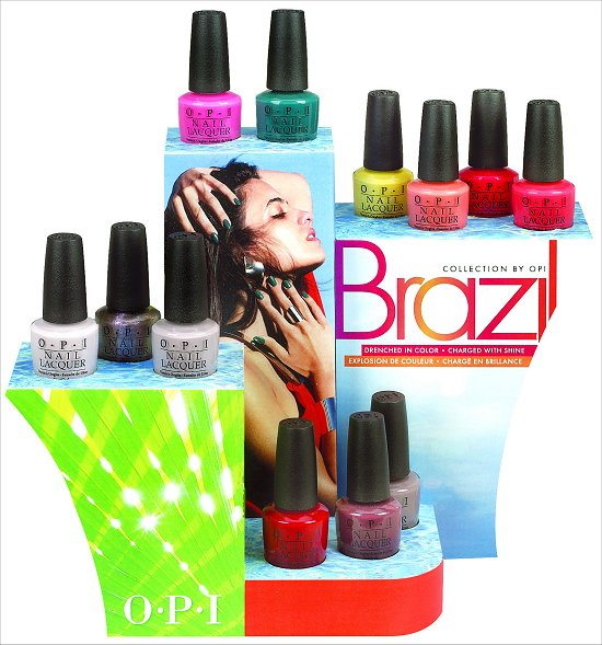 OPI Brazil Collection for Spring Summer 2014