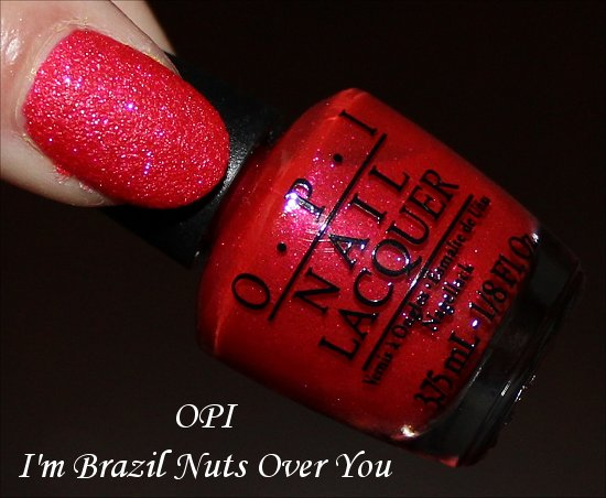 OPI I'm Brazil Nuts Over You Brazil Collection